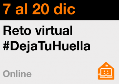Reto virtual #DejaTuHuella